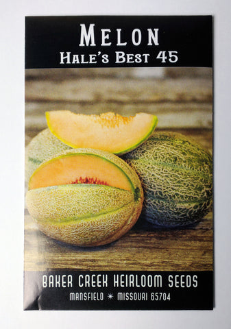 Hale's Best 45 Melon Seed, 25ct