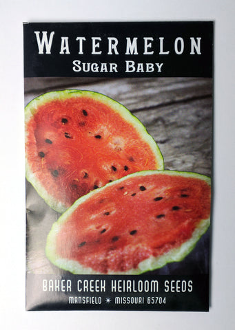 Sugar Baby Watermelon Seed, 25ct