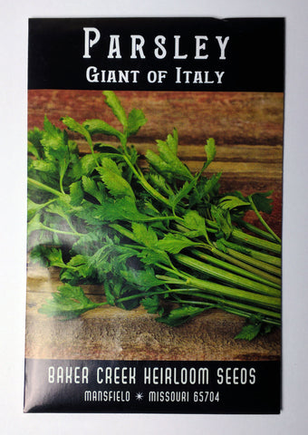 Giant of Italy Parsley Seed, 400ct