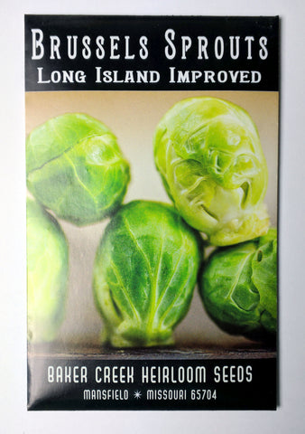 Long Island Improved Brussels Sprouts Seed, 150ct