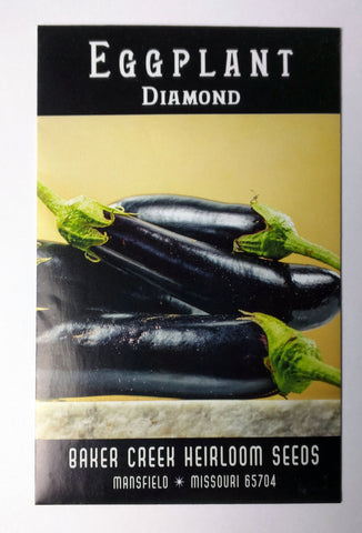 Diamond Eggplant Seed, 25ct