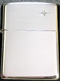 Zippo Lighter 15 Diamond Genuine stone Sterling silver