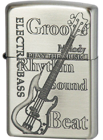 Zippo Lighter Play the Music ELECTRIC BASS NI