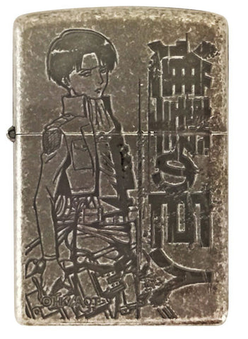 Zippo Lighter Attack on Titan B Levi