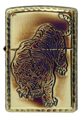 Zippo Lighter Armor Arabesque Tiger