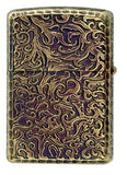 Zippo Lighter Armor Arabesque Dragon