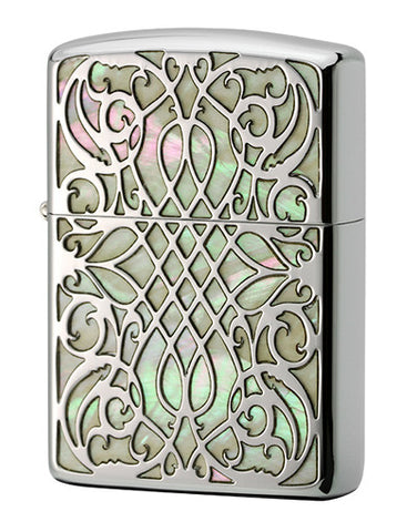Zippo Lighter Armor Shell Inlay Shell - Arabesque SV