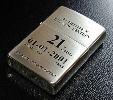 Zippo Lighter In 2000 Limited the 21st Century Anniversary Century Turn