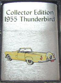 Zippo Lighter Choice Collection 2003 Spring Limited Ford Centenary 1955 Thunderbird 20387 Made in 2002