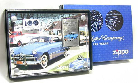 Zippo Lighter Choice Collection 2003 Spring Limited Ford Centenary 1949 Custom 20386 Made in 2002