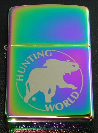 Zippo Lighter Discontinued Item HUNTING WORLD #151 Spectrum