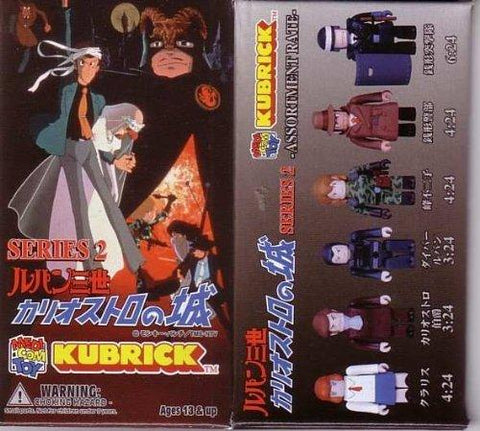 (24 pcs blind box specification ) Medicom Kubrick Lupin III Castle of Cagliostro SERIES 2 BOX