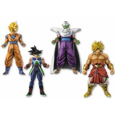 Dragon Ball Z prefabricated High Spec Coloring Figure 1 all four sets