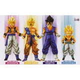 Dragon Ball Z high-spec color ring figure 5 all four set