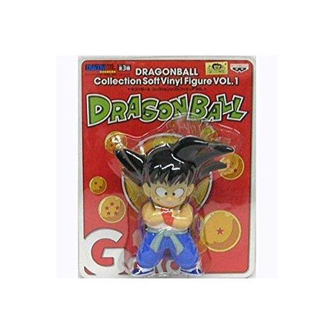 Dragon Ball Collection Soft Vinyl Figure Son Goku vol1 (japan import)