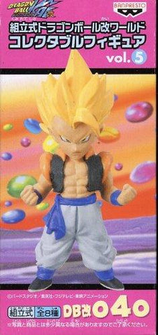 040 prefabricated Gogeta Dragon Ball Kai World Collectable Figure vol5 DB Kai (Super Saiyan Ver) (japan import)