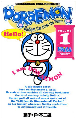 Doraemon Gadget cat from the future (Volume 1) Shogakukan English comics [English]