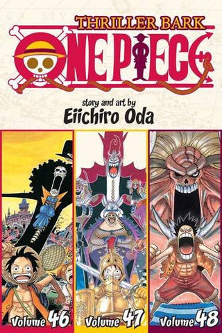 One Piece (Omnibus Edition), Vol. 16: Thriller Bark, Includes vols. 46, 47 & 48