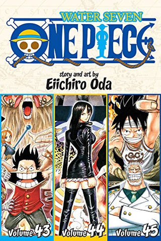 One Piece (Omnibus Edition), Vol. 15: Includes Vols. 43, 44 & 45