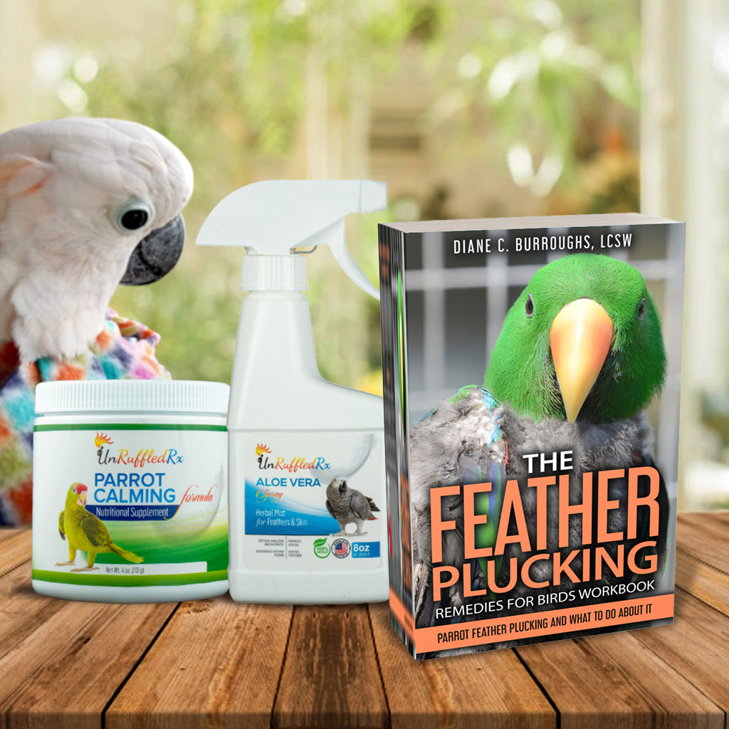 Feather plucking remedies for parrots