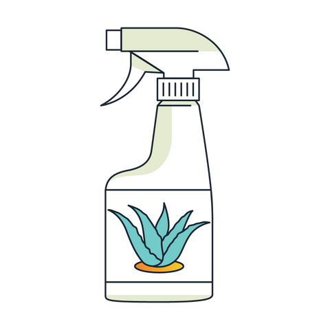 Aloe Vera Spray for Birds