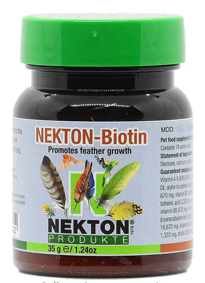 Nekton Bio for feathering | parrot feather growth