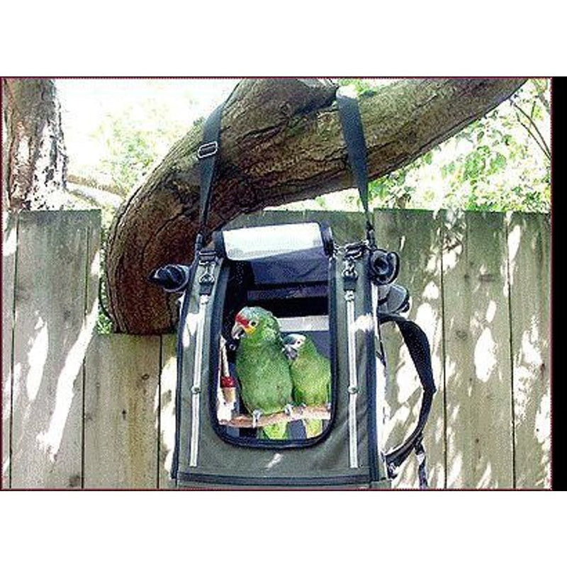 Celltei Pak-O-Bird Large Cockatoo Bird Carriers Stainless Steel Mesh