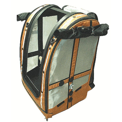 Celltei Pak-O-Bird Travel Carrier Medium Large Stainless Steel Mesh
