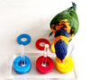 Fun Max Rings Bird Training Toys