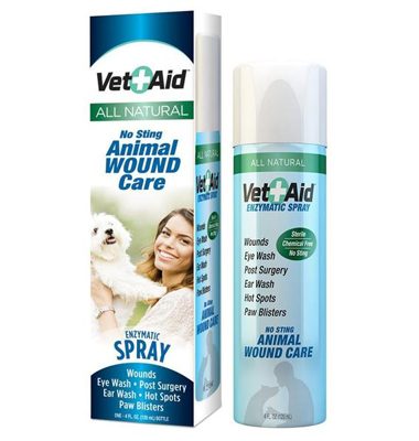 Feather Plucking Aids Vet-Aid Sea Salt Self-Mutilation Healing Spray 4 oz.