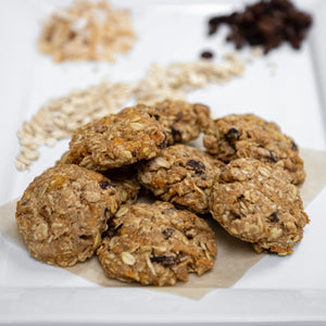 Coconut Carrot Cookies (vegan)