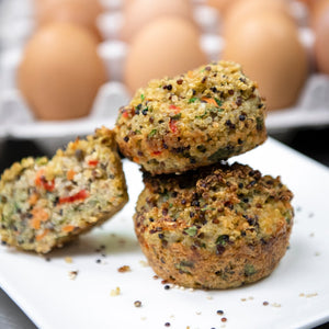 Egg | Quinoa | Vegetable Muffins (GF)