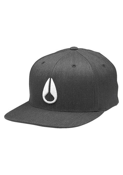 DEEP DOWN FF ATHLETIC FIT HAT BLACK HEATHER/WHITE