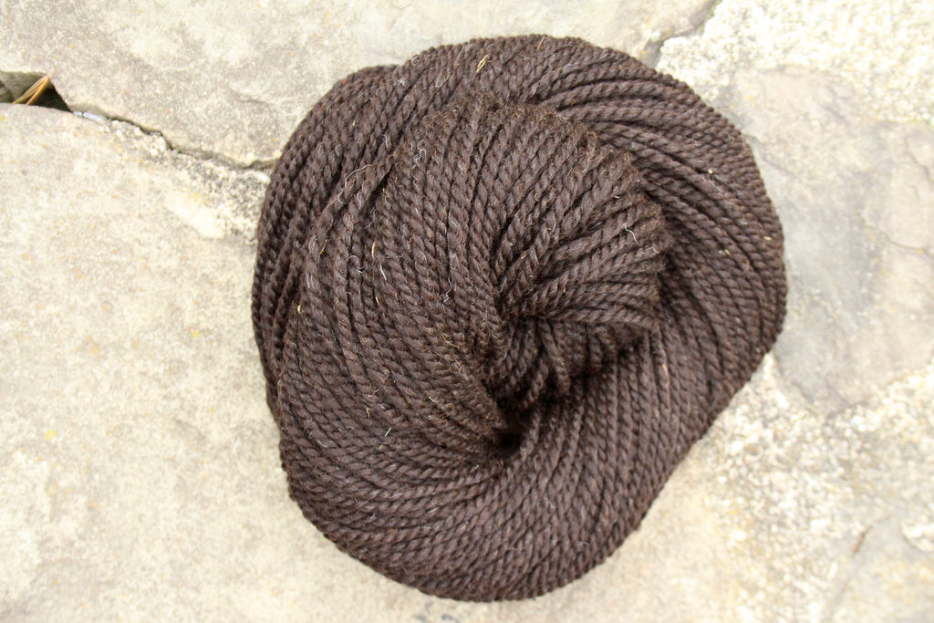 "Merino + Alpaca Farm Yarn ""Earthy"""