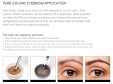 Pure Colors Eye Brow Filler, Ash Brown