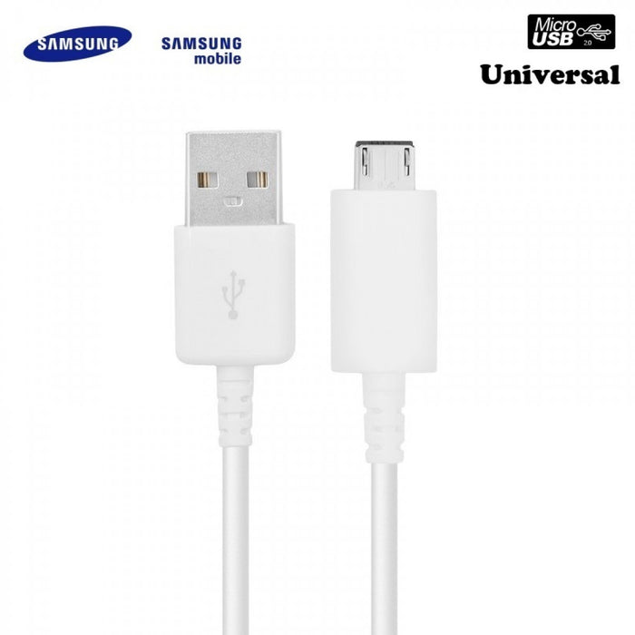 Samsung Galaxy S7/S7 Edge 1.2m Micro USB Cable White