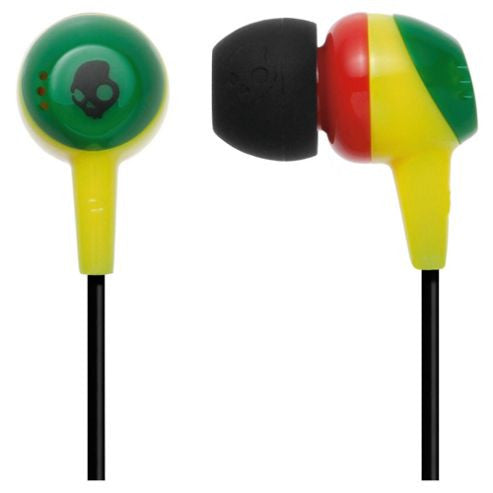 Skullcandy In Ear Supreme Sound Jib Earphone Rasta