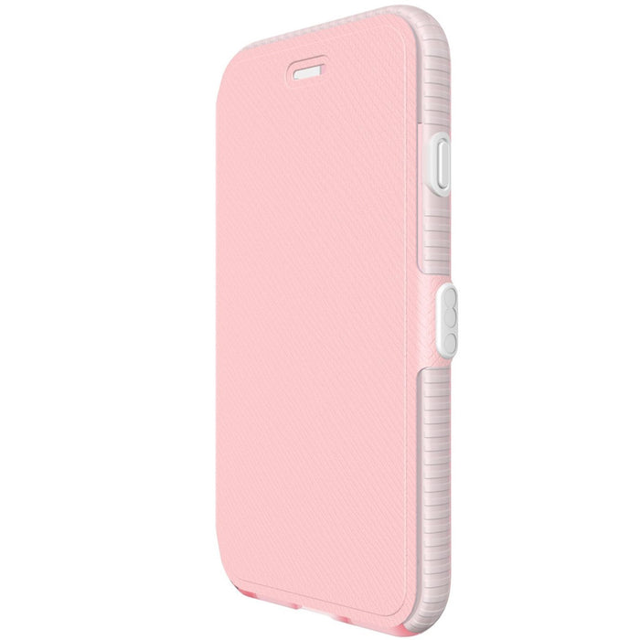 finest selection c9bfe 982e0 Tech21 Evo Wallet Case with FlexShock for Apple iPhone 8 7 6 6S- Light Rose