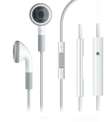 Genuine Apple iPhone 4S / 5S / ipad / iPod /6 Headphones Handsfree Earphones