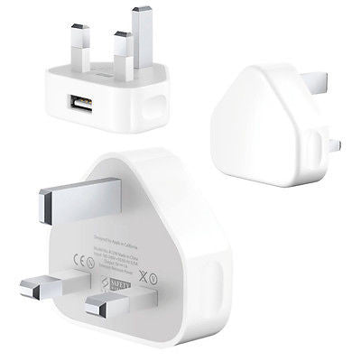 Official Apple 5W Wall Charger Plug Head For iPhone 5 5C 5S 6 6S 7 7 Plus