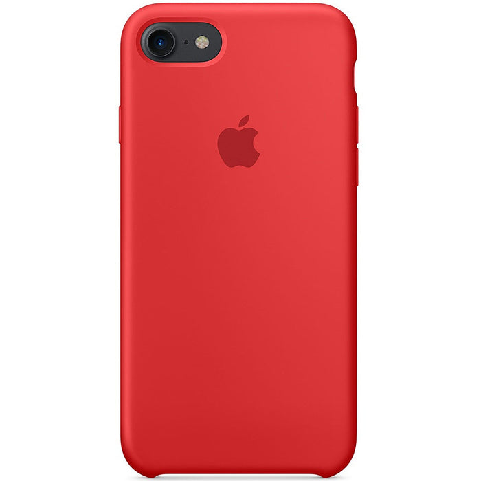 Official Apple iPhone 7 Silicone Back Case Cover - Product Red ...