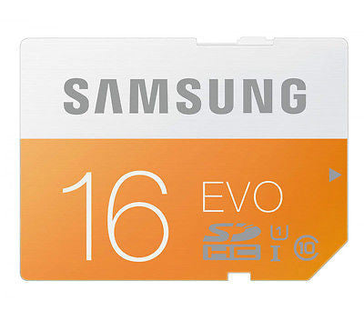 Official 16GB Samsung Micro SD SDHC EVO Class 10 Memory Card