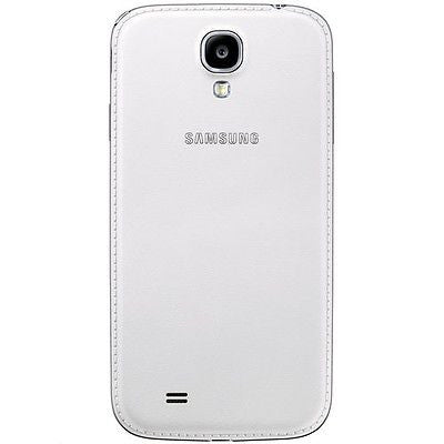 Official Samsung Galaxy S4 Leather Battery Cover Case - White