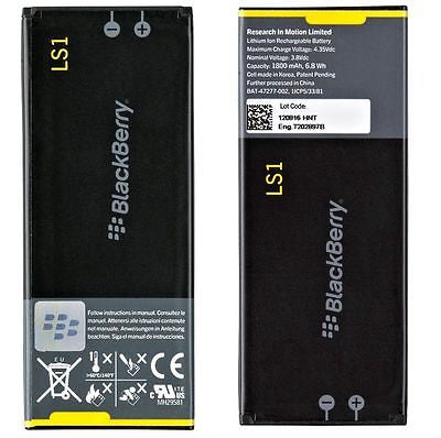 Official Blackberry Z10 L-S1 LS1 Replacement Battery