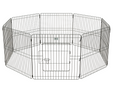 Pet Adore 8 Panel Pet Playpen Cage For Dog Puppy Rabbits Guinea Pigs Indoor / Outdoor - 76CM