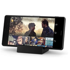 Official Sony Xperia Z1 Compact Charging Desktop Dock Black DK-32
