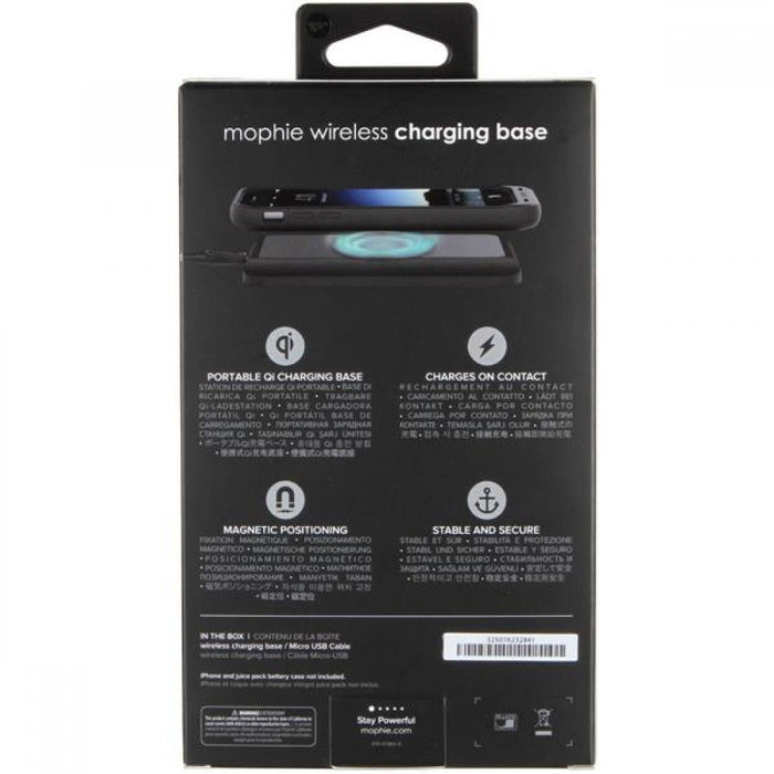 Mophie Wireless Qi Charging Base for Apple Samsung