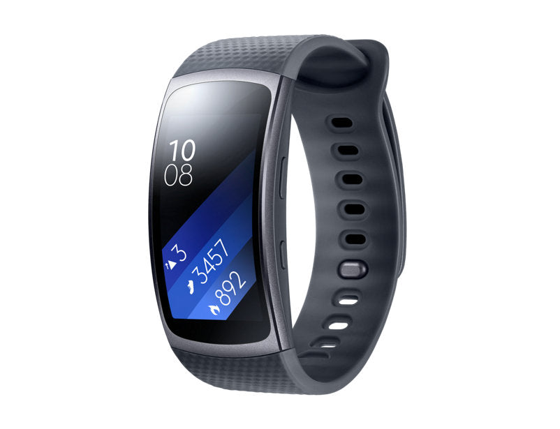 Samsung Gear Fit 2 Smart Watch SM-R360 Dark Grey - Large