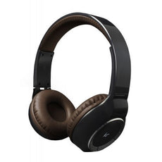 Kitsound Arena Wireless Bluetooth Over Head Headphone Handsfree with Mic - Brown