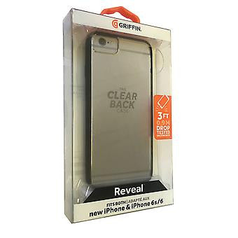 Griffin Reveal Black Clear Case Cover Apple iPhone 7 6 6S